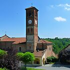 Church Spire in Tigliole (Asti) Italy by katekreations