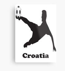 Croatia Soccer Metal Print