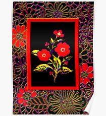 'Flamenco Rose' dance dance dance Poster