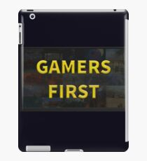 Gamers First iPad Case/Skin