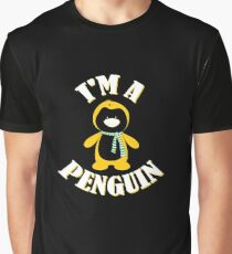 I'm a Penguin in the Winter Snow antarctic gift Graphic T-Shirt