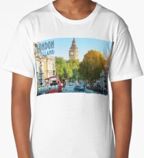 Visit London - Travel Poster Long T-Shirt