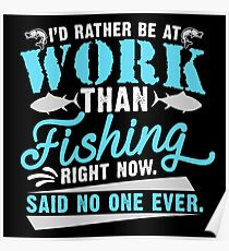 Fishing Quote Poster