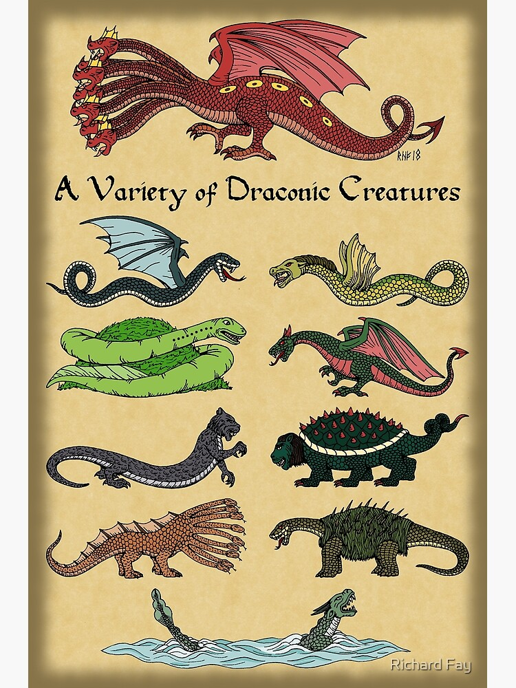 Image result for draconic creatures