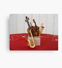 The Music Box Canvas Print