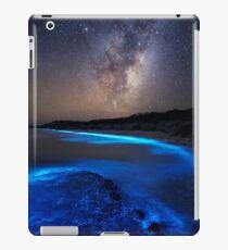 Milchstraße über Meer Sparkle Bay iPad-Hülle & Klebefolie