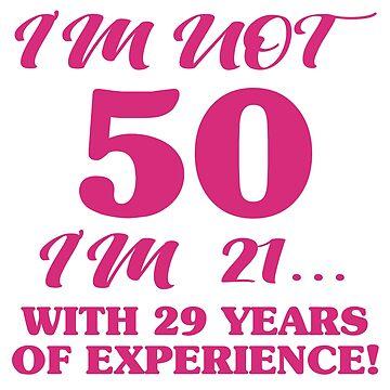 Funny 50th Birthday by thepixelgarden