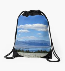 White Sand Drawstring Bag