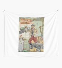 Rural Life Wall Tapestry