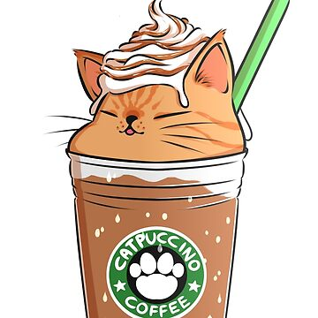Caramel CATpuccino by amcart