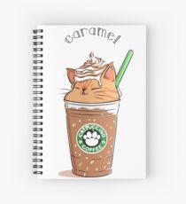 Cuaderno de espiral Caramel CATpuccino