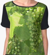 Green grapes Chiffon Top