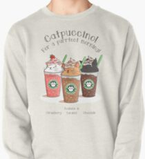 Catpuccino! For a purrfect morning! Pullover