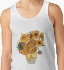 Van Gogh sunflowers Men's Tank Top