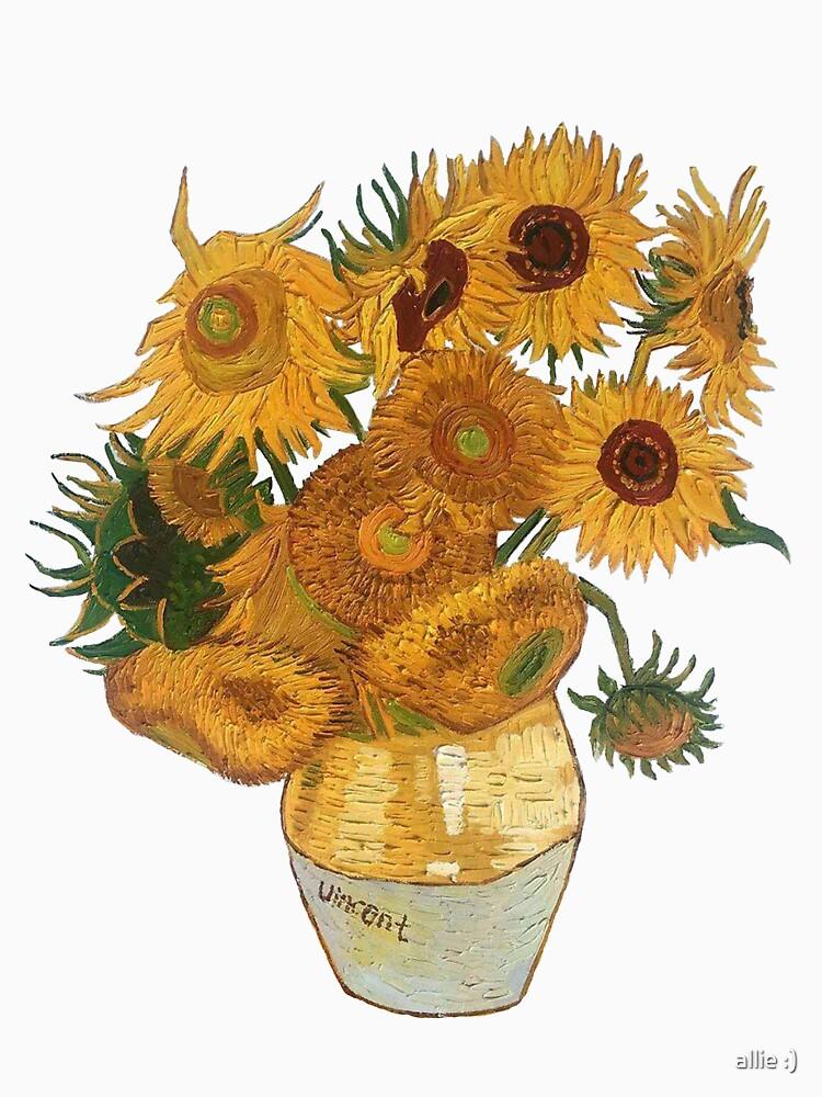 Van Gogh sunflowers by allie1