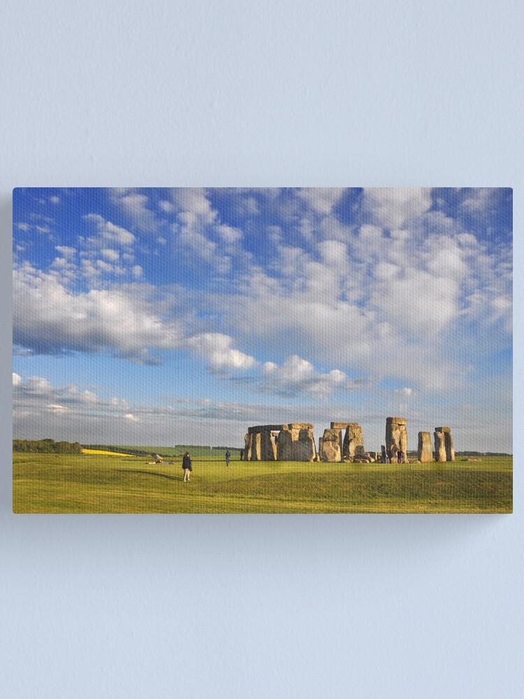 Alternate view of Stonehenge Canvas Print