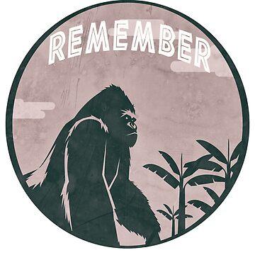 Remember the Gorilla Sign Language Speaking Ape Shirt by merchhost