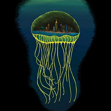 Jellyfish City by ZenGalacticore