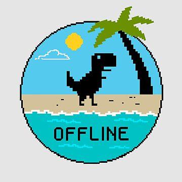 Off Line by coffeeman