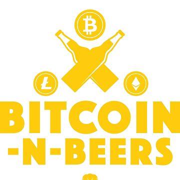 Bitcoin-N-Beers (Crest / Dark) by Bitcoin-N-Beers
