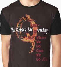 QAnon Storm The Great Awakening WWG1WGA by Scralandore Graphic T-Shirt
