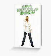 Steps Birthday Card - H Greeting Card