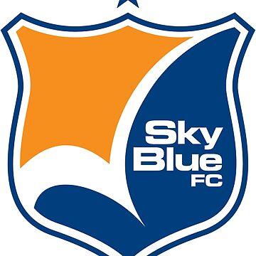 sky blue women soccer by mutualbrady