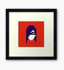 Retro Violet Framed Print
