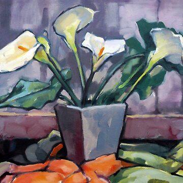 Lilies by rozmcq