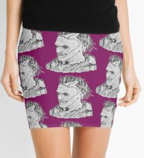 Leatherface  Mini Skirt