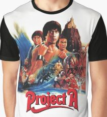 Jackie Chan - Project A Graphic T-Shirt