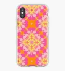 art abstract pattern seamless colorful repeat iPhone Case