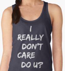 I Really Don't Care Do U Jacket Shirt Inspired by Melania Women's Tank Top