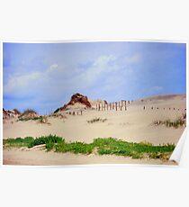 Cape Hatteras State Park Dunes Poster