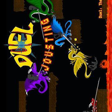Duel Jousting Game Phone Case #4 by shadowinkdesign
