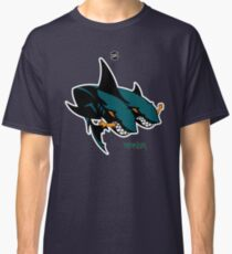 The 2 Headed Sharks From San Jose Classic T-Shirt
