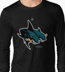The 2 Headed Sharks From San Jose Long Sleeve T-Shirt