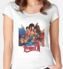 Jackie Chan - Project A Women's Fitted Scoop T-Shirt