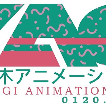 YAG - YOYOGI ANIMATION GAKUIN - Rockman Dash Version Logo with AESTHETIC by SonnyBone