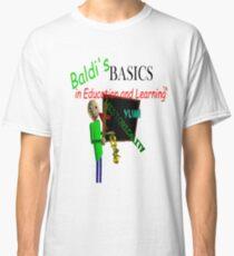 Camiseta clásica Fundamentos de Baldi en Educación y Aprendizaje