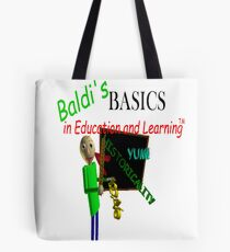 Baldi's Basics in Education and Learning Tote Bag