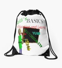 Baldi's Basics in Education and Learning Drawstring Bag