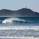 Byron Bay from Broken Head by PhotosByG