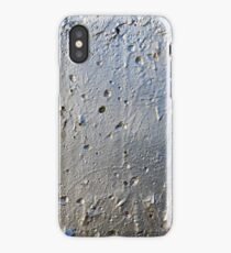 Silver Paint Texture iPhone Case/Skin
