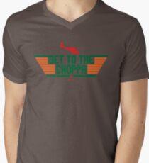 To the Choppa!! Men's V-Neck T-Shirt