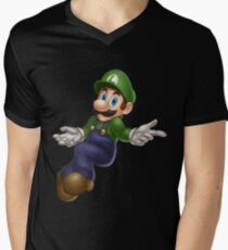 Luigi Mens V-Neck T-Shirt