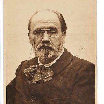 Emile Zola by savantdesigns