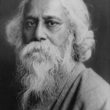 Rabindranath Tagore by savantdesigns