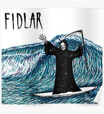 fidlar wave Poster