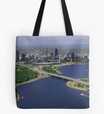 Perth From Above Tote Bag